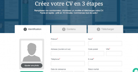 Startup <h3>Cvwizard</h3> France French Tech