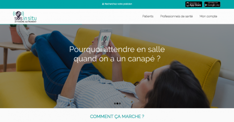 Startup <h3>SMS IN SITU</h3> France French Tech
