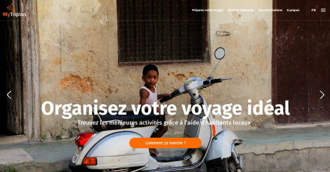 Startup <h3>Mytriplan</h3> France French Tech