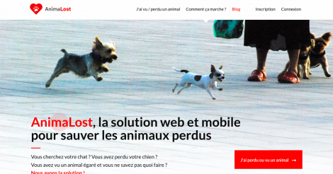 Startup <h3>AnimaLost</h3> France French Tech