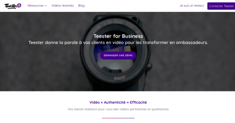 Startup <h3>Teester</h3> France French Tech