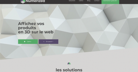 Startup <h3>Numerized</h3> France French Tech