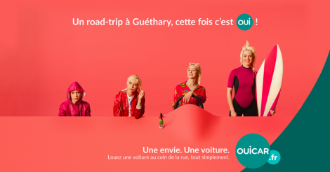 Startup <h3>OUICAR</h3> France French Tech