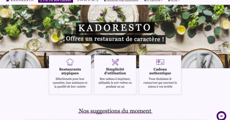 Startup <h3>Kadoresto</h3> France French Tech