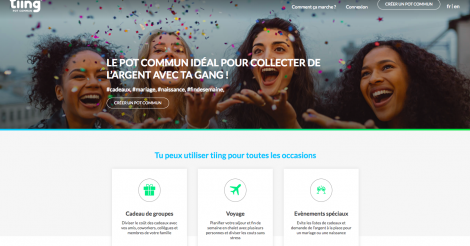 Startup <h3>Tiing - Pot commun</h3> France French Tech