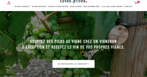 Startup <h3>Cuvée Privée</h3> France French Tech