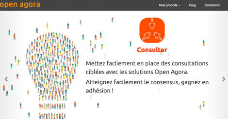 Startup <h3>Open Agora</h3> France French Tech