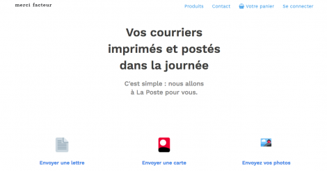 Startup <h3>Merci facteur</h3> France French Tech