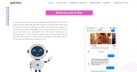 Startup <h3>KidoPass</h3> France French Tech