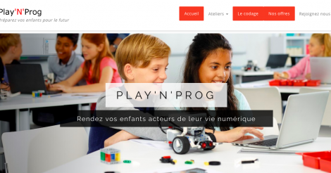 Startup <h3>PlayNProg</h3> France French Tech