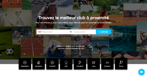 Startup <h3>NearbySport</h3> France French Tech