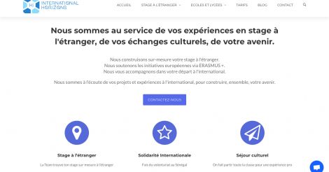Startup <h3>International Horizons</h3> France French Tech