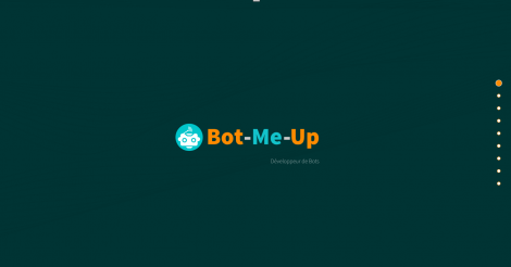 Startup <h3>Bot-Me-Up</h3> France French Tech