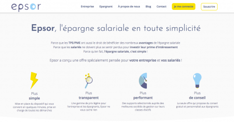 Startup <h3>Epsor</h3> France French Tech