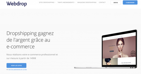 Startup <h3>Webdrop</h3> France French Tech