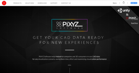 Startup <h3>PiXYZ Software</h3> France French Tech