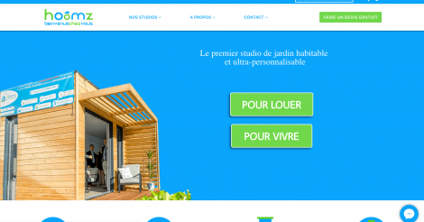 Startup <h3>Hoomz</h3> France French Tech