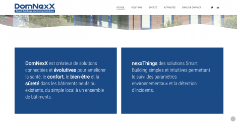 Startup <h3>DomNexX</h3> France French Tech