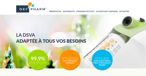 Startup <h3>Oxy&#039;Pharm</h3> France French Tech