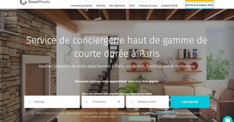 Startup <h3>GuestReady</h3> France French Tech