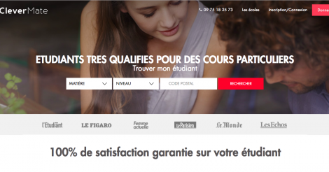 Startup <h3>Clevermate</h3> France French Tech