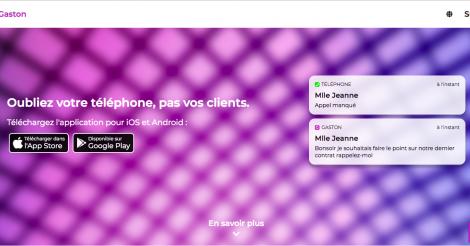 Startup <h3>Gaston</h3> France French Tech