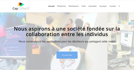 Startup <h3>Cap Collectif</h3> France French Tech