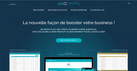 Startup <h3>Predify</h3> France French Tech