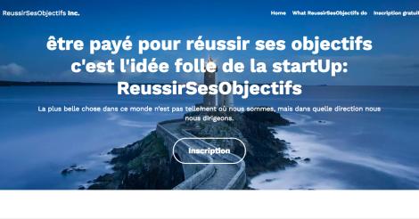 Startup <h3>Reussirsesobjectifs</h3> France French Tech