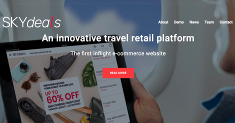 Startup <h3>SKYdeals</h3> France French Tech