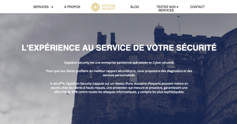 Startup <h3>Oppidum security</h3> France French Tech