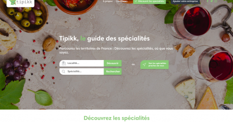Startup <h3>Tipikk</h3> France French Tech