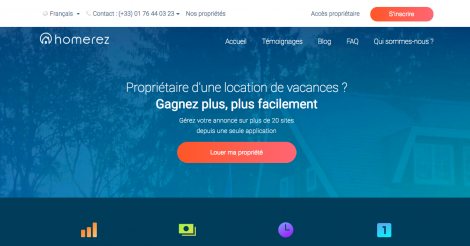 Startup <h3>Homerez</h3> France French Tech