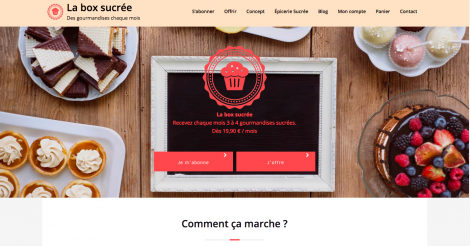 Startup <h3>La Box Sucrée</h3> France French Tech