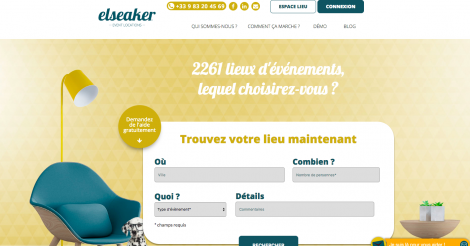 Startup <h3>Elseaker</h3> France French Tech