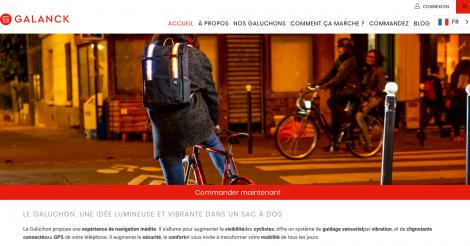 Startup <h3>Galanck </h3> France French Tech