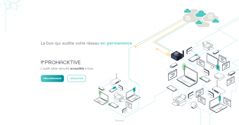 Startup <h3>Prohacktive</h3> France French Tech