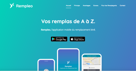 Startup <h3>Rempleo</h3> France French Tech