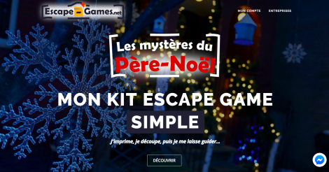 Startup <h3>Escape-Games.net</h3> France French Tech