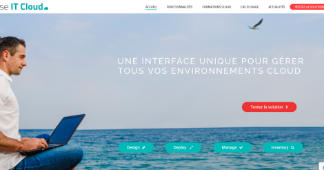 Startup <h3>Use IT Cloud</h3> France French Tech
