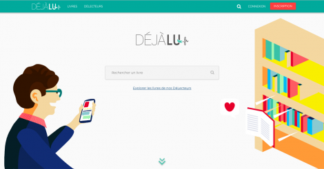 Startup <h3>DejaLu</h3> France French Tech