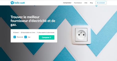 Startup <h3>Hello Watt</h3> France French Tech