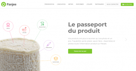 Startup <h3>Panjee</h3> France French Tech