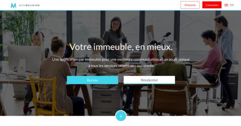Startup <h3>Monbuilding </h3> France French Tech