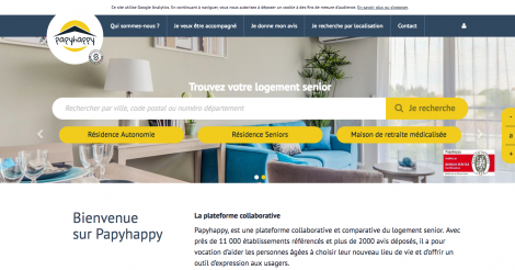 Startup <h3>PapyHappy</h3> France French Tech