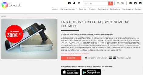 Startup <h3>GoyaLab</h3> France French Tech