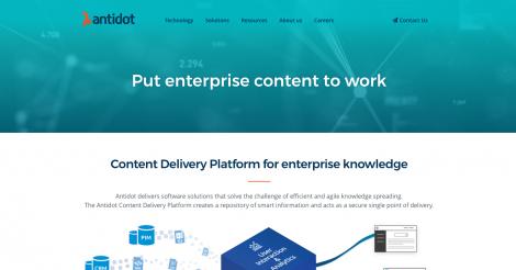 Startup <h3>Antidot</h3> France French Tech
