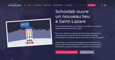 Startup <h3>Schoolab</h3> France French Tech