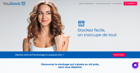 Startup <h3>YouStock</h3> France French Tech