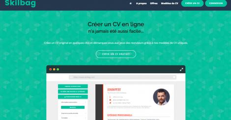 Startup <h3>Skilbag</h3> France French Tech